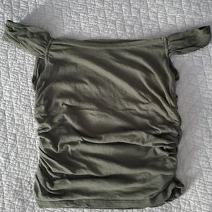 Urban Outfitters Off Shouldler Lightweight Top